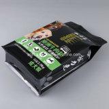 Zak van de Verpakking van de Verbinding van de Vierling van Custmized de Plastic voor het Voedsel/de Hondevoer van /Cat van het Voer van het Huisdier