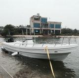 barco de pesca luxuoso do Panga da fibra de vidro 26D para a venda