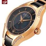 Reloj estable modificado para requisitos particulares del acero inoxidable de la manera de las señoras