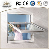 Venta directa colgada superior modificada para requisitos particulares fabricación de la ventana de China UPVC