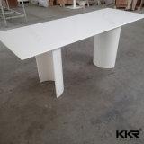 Gaststätte-Möbel-Quadrat-fester Oberflächensteinmarmorspeisetisch (T161205)