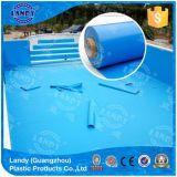 青い池はさみ金か耐久の補強されたビニールはさみ金