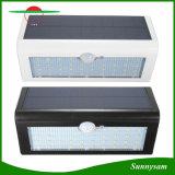 太陽機密保護ライト、38のLEDの3ポーチのテラスのためのモードIP65の太陽照明の屋外のSolar Energy動きセンサーライトおよびヤード