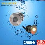 1 colore messo 24V di PCS che cambia LED che modific il terrenoare l'indicatore luminoso del raggruppamento