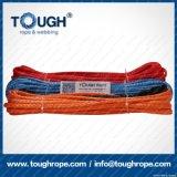 Blaue elektrische Seil-Handkurbel der Farben-8.5mmx28m Uhwmpe