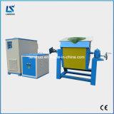 Beweglicher rotierender elektrischer Aluminiumschmelzender Ofen-Preis der induktions-40kg