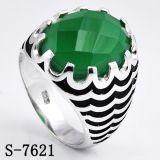 Ring van de Juwelen van Wholsale van de fabriek de Zilveren voor de Mens