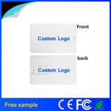 Kundenspezifisches Firmenzeichen-Drucken-MiniKreditkarte USB-Blitz-Laufwerk