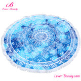 Atacado Custom Big Stock Round Cotton Beach Towel