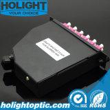 MPO Cassette MPO aan Om4 de Kabel van het Flard LC
