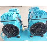 compresseur d'air rotatoire portatif silencieux de vis de 2X600W 50L
