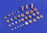 Серебряный сплав или окись металла на медных составных заклепках контакта