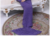 Mermaid Tail Blanket Crochet e Mermaid Blanket for Girl