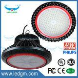 Lampada multifunzionale della baia del UFO 100W LED dell'UL Dlc dell'indicatore luminoso di alto lumen alta