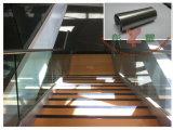 Pasamano del mirador del acero inoxidable con el vidrio