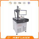La migliore marca ampiamente utilizza la macchina della marcatura del laser della fibra sul PVC del PEC dell'ABS dei metalli