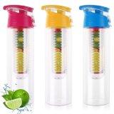 2017 garrafas de água infundidas da venda fruta plástica quente para Pormotion (BPA livre)