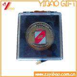 Pin de encargo popular de la medalla 2017 con el rectángulo de almacenaje de la presentación