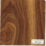 Papel bajo del grano de madera oscuro