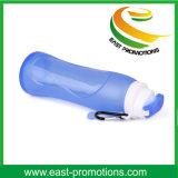 bottiglia di acqua pieghevole del silicone 500ml
