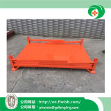 Cremalheira de empilhamento de aço dobrável para bens do armazenamento com Ce