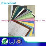 Película decorativa del PVC con diverso color para la cabina