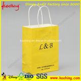 Белые хозяйственные сумки бумаги корабля с Twisted шнуром