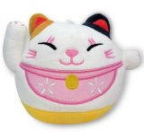 Lucky Cat Stuffed Soft Plush Toy com Suck