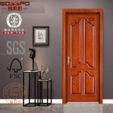 Modèle en bois d'acajou de porte de modèle neuf avec le découpage (GSP2-043)