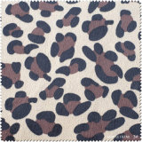 Qualitäts-Leopard-Muster PUfaux-Leder für Schuhe, Beutel (CF020130W)