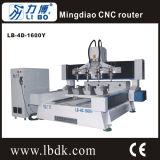 Маршрутизатор CNC 4 осей Lb автоматический деревянный