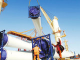 Chaîne du Japon élévateur à chaînes électrique de 20 tonnes avec le chariot