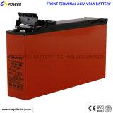 Bateria dianteira Ft12-100 do AGM do terminal da longa vida para o armazenamento solar