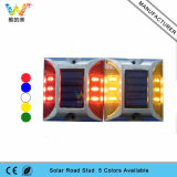 Pathway Flashing Light Refroidisseur d'énergie solaire LED Aluminium LED Road Stud