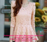 Новое Fashion Elastic Lace Fabric для Dress