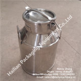 Milk를 위한 25 리터 Sanitary Stainless Steel Transport Milk Barrel
