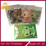 Buen ambientador de aire del coche del olor, ambientador de aire de papel del coche