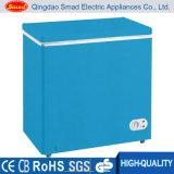 O mini congelador horizontal da caixa da cor, colore o mini congelador da caixa, congelador