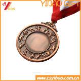 Custom Gold Plaqué avec Impression recto-verso Logo Médailles Souvenir (YB-LY-C-29)
