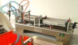 5-100ml Dubbele Hoofd Vloeibare Pneumatische het Vullen Softdrink Machine