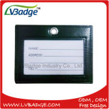 Tag de couro feitos sob encomenda da fábrica/Tag conhecidos