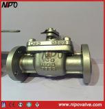 D'api 6D de moulage d'acier premier Enrty robinet à tournant sphérique de Wcb