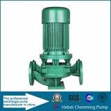 Vertikale Heißwasser-elektrische verteilende Inline-Schleuderpumpe