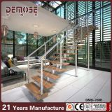 Kundenspezifischer hölzerner Treppen-Hauptentwurf (DMS-7008)