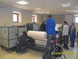 Machine d'enduit adhésive de fonte chaude d'action d'étiquette de papier thermosensible