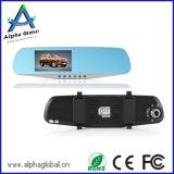 Allwinner 4.3 miroir de vue arrière du véhicule DVR de TFT LCD de pouce Dashcam