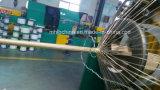Le fil d'acier tressé a renforcé le boyau hydraulique couvert par caoutchouc (SAE100 R2at-08)/boyau en caoutchouc