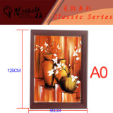 AluminiumSnap Picture Frame Foto Frame mit LED