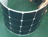 comitato solare semi flessibile 100W/modulo solare con le pile solari di Sunpower