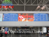 P6 RGB Panel Display LED da interno per l'aeroporto